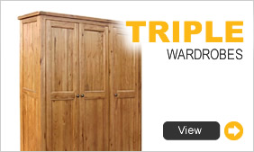 Triple Wardrobes
